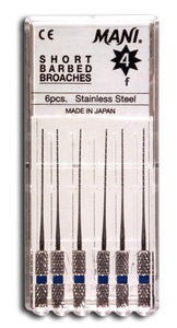 Mani Short Barbed Broaches